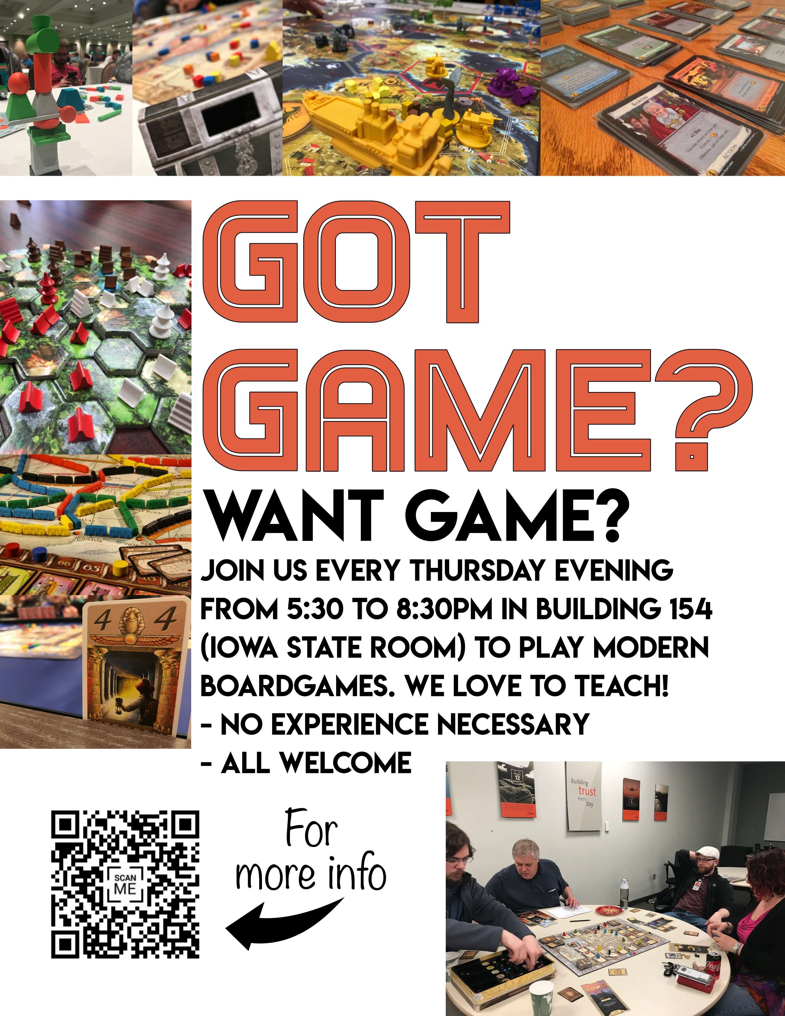 Game Group Flyer